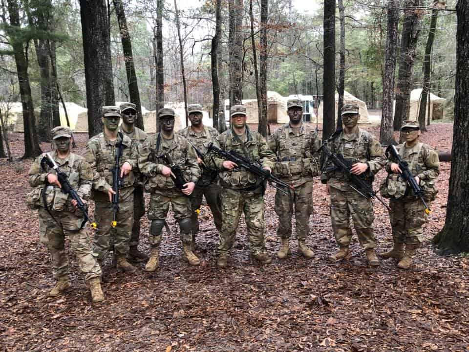 Field training at OCS