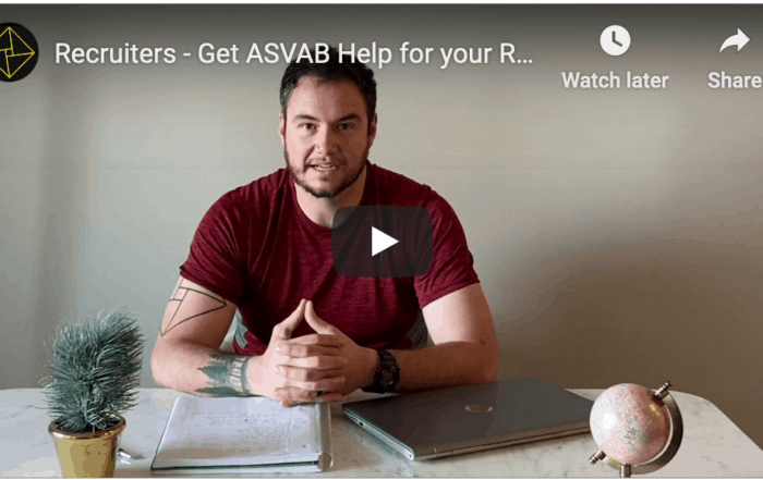 ASVAB Help for Military Recruiters